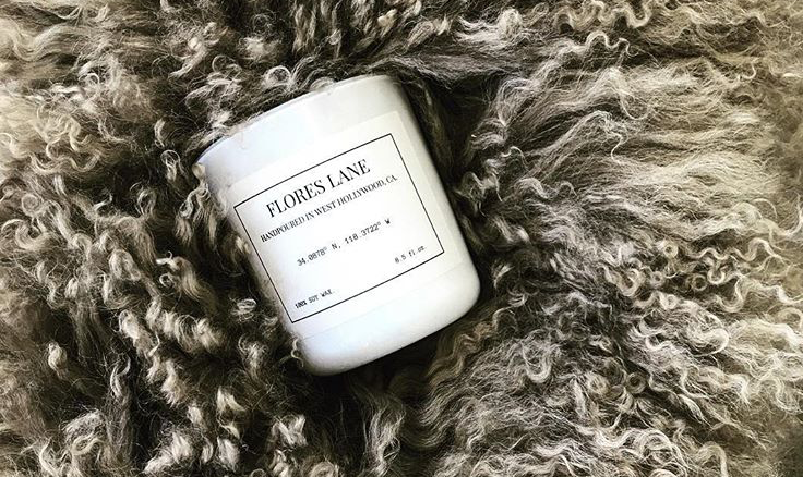 Giveaway #4: Flores Lane Candle