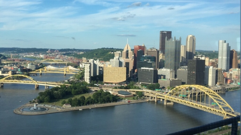 """""""Pitt-stop"""" in Pittsburgh,PA"""